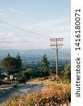 mulholland drive  in encino ...   Shutterstock . vector #1416180071