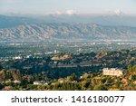 san fernando valley landscape...   Shutterstock . vector #1416180077