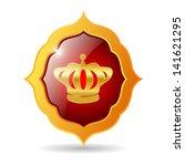 vector royal emblem | Shutterstock .eps vector #141621295