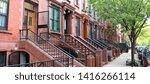 Brownstones In Harlem  New...