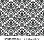 seamless floral polish pattern  ... | Shutterstock .eps vector #141628879