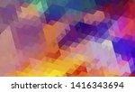 geometric design. colorful...   Shutterstock .eps vector #1416343694