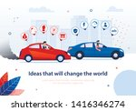 ideas that will change world.... | Shutterstock .eps vector #1416346274