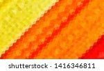 geometric design. colorful... | Shutterstock .eps vector #1416346811