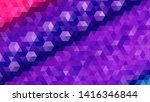 geometric design. colorful... | Shutterstock .eps vector #1416346844
