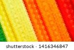 geometric design. colorful... | Shutterstock .eps vector #1416346847