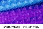 geometric design. colorful... | Shutterstock .eps vector #1416346907