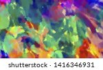 geometric design. colorful... | Shutterstock .eps vector #1416346931