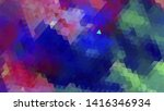 geometric design. colorful... | Shutterstock .eps vector #1416346934