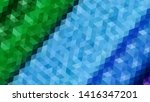 geometric design. colorful... | Shutterstock .eps vector #1416347201