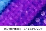 geometric design. colorful... | Shutterstock .eps vector #1416347204
