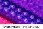 geometric design. colorful... | Shutterstock .eps vector #1416347237