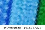 geometric design. colorful... | Shutterstock .eps vector #1416347327