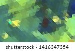 geometric design. colorful... | Shutterstock .eps vector #1416347354