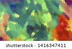 geometric design. colorful... | Shutterstock .eps vector #1416347411