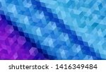 geometric design. colorful... | Shutterstock .eps vector #1416349484