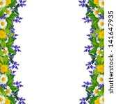 frame  different colorful... | Shutterstock . vector #141647935