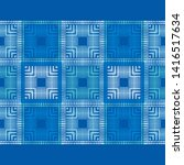 polka dots seamless pattern.... | Shutterstock .eps vector #1416517634