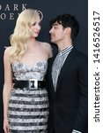 "Small photo of LOS ANGELES - JUN 4: Sophie Turner, Joe Jonas at the ""Dark Phoenix"" World Premiere at the TCL Chinese Theater IMAX on June 4, 2019 in Los Angeles, CA"