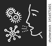 dust allergy chalk icon....   Shutterstock .eps vector #1416571601