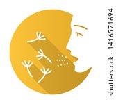 summer allergy flat design long ...   Shutterstock .eps vector #1416571694