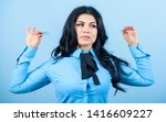 eyelash removal procedure.... | Shutterstock . vector #1416609227