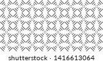 pattern stripes geometric... | Shutterstock .eps vector #1416613064