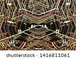 3d rendering 3d illustration of ...   Shutterstock . vector #1416811061
