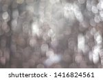 silver abstraction  beads in... | Shutterstock . vector #1416824561
