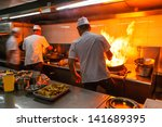 Crowded Kitchen  A Narrow Aisl...