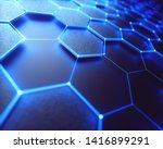conceptual abstract image with... | Shutterstock . vector #1416899291