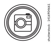 photographic camera device...   Shutterstock .eps vector #1416904661