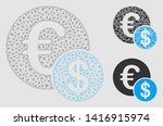 mesh currency model with... | Shutterstock .eps vector #1416915974