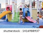 kallang   singapore   june 6th... | Shutterstock . vector #1416988937