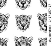 seamless pattern of hand drawn... | Shutterstock .eps vector #1417157417