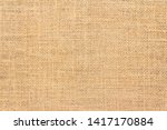 Burlap Sack Background And...
