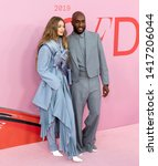 Small photo of New York, NY - June 03, 2019: Gigi Hadid and Virgil Abloh attend 2019 CFDA Fashion Awards at Brooklyn Museum