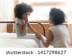 caring worried african american ...   Shutterstock . vector #1417298627