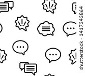 speech bubble icon seamless...