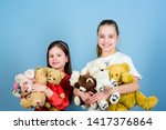love and friendship. kids... | Shutterstock . vector #1417376864