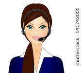 vector illustration of smiling...   Shutterstock .eps vector #141743005