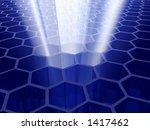 cellular technology - stock photo