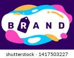 vector creative illustration of ... | Shutterstock .eps vector #1417503227
