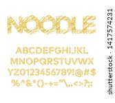 noodle font.you can be used...