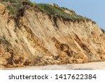 Landslide Zone On Black Sea...