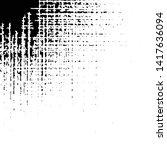 grunge crosshatch corner...   Shutterstock .eps vector #1417636094