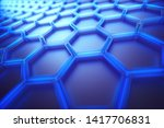 conceptual abstract image with... | Shutterstock . vector #1417706831