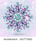 seamless pattern with pink... | Shutterstock .eps vector #141771061