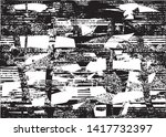 distressed background in black... | Shutterstock .eps vector #1417732397
