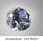 daylit diamond   3d illustration | Shutterstock . vector #14178229
